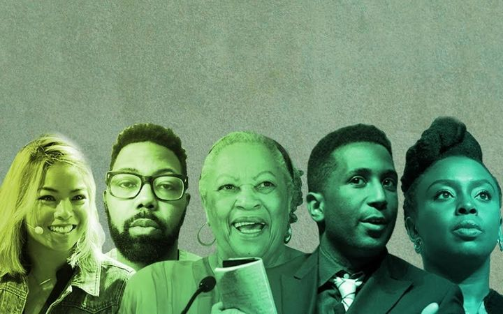 Jia Tolentino, Damon Young, Toni Morrison, Wesley Morris and Chimamanda Ngozi Adichie.
