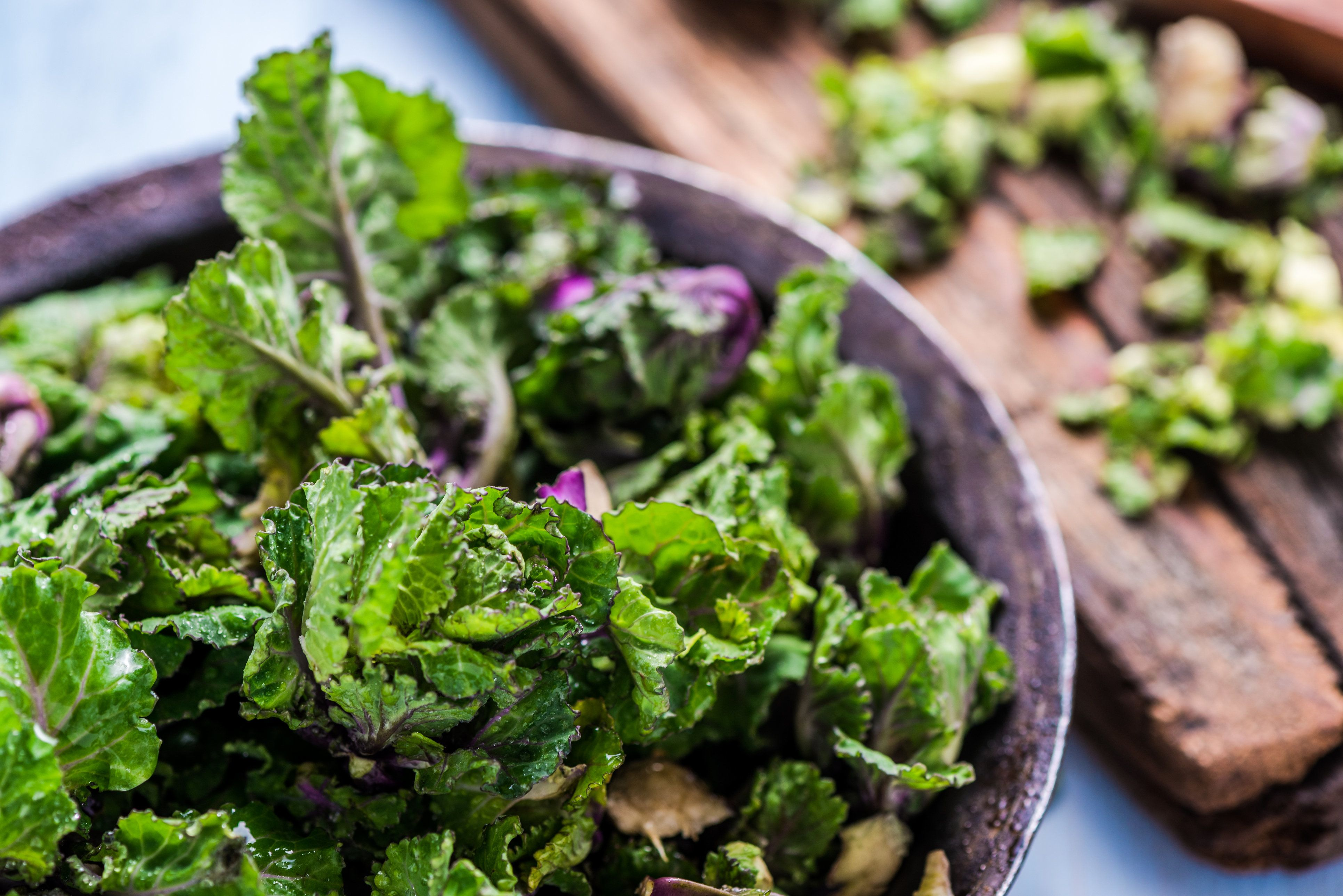 Lutein, a protein found in leafy greens, may support cognitive function and brain