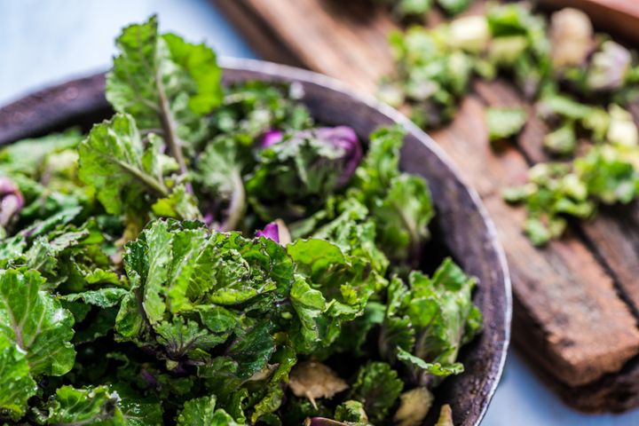 Lutein, a protein found in leafy greens, may support cognitive function and brain health.
