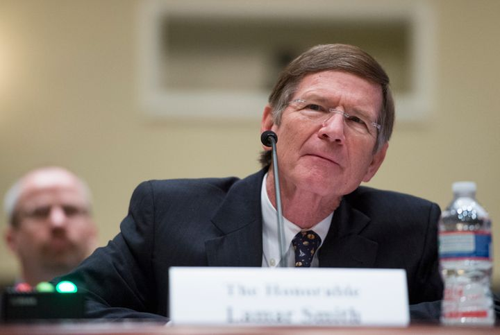 Rep. Lamar Smith has a long history of denying climate change.