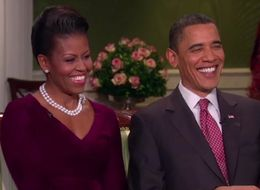 A Flashback To The Obamas' 'Magical' First Christmas In The White House