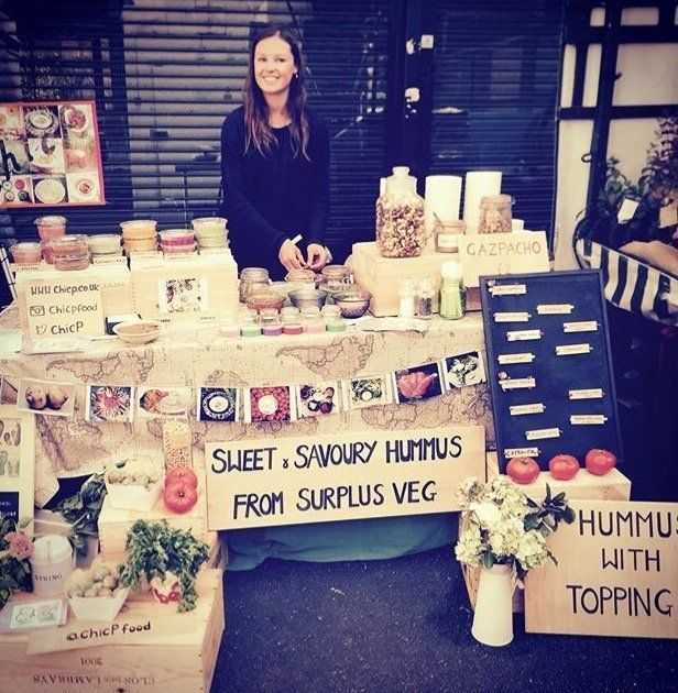 Hannah McCollum gets her ingredients from New Spitalfields Market, a wholesale fruit, vegetable and flower market based in Lo