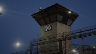 The detention center in Guantanamo Bay Cuba