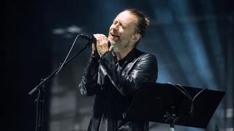AUSTIN, TX - OCTOBER 07:  Thom Yorke of Radiohead performs at Zilker Park on October 7, 2016 in Austin, Texas.  (Photo by Erika Goldring/FilmMagic)