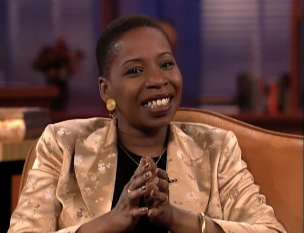 "<i><strong>Iyanla Vanzant</strong></i><br>""Most of us have a death urge. We see the guy coming, warning slapped right in the"