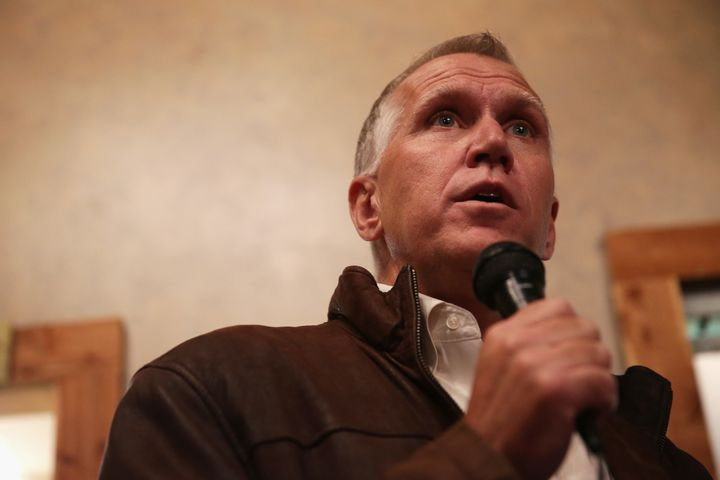Sen. Thom Tillis (R-N.C.) was elected with support from two nonprofit groups funded by secret donors given throughCross