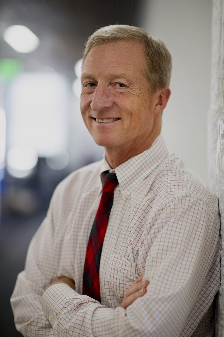 Billionaire environmentalist Tom Steyer is, so far, the top super PAC donor for the second straight election.