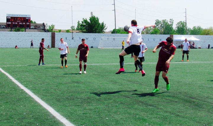 Detroit City FC host FC United of Manchester in May 2016.