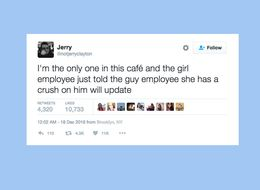 Customer Live Tweets Coffee Shop Romance, Proves Love Does Exist