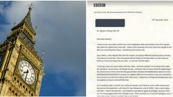 8-Year-Old Gets Brilliant Reply From The BBC After Offering To Step In For Big