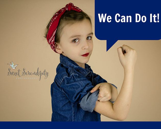 Mum Photographs 5-Year-Old As Feminist Heroes To Prove She Can Be Anyone She