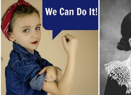Mum Photographs 5-Year-Old As Feminist Heroes To Prove She Can Be Anyone She Wants