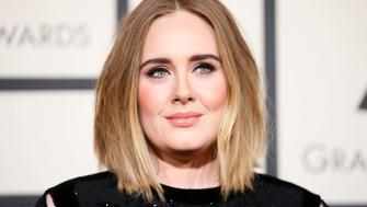 Singer Adele arrives at the 58th Grammy Awards in Los Angeles, California February 15, 2016.    REUTERS/Danny Moloshok/File Photo