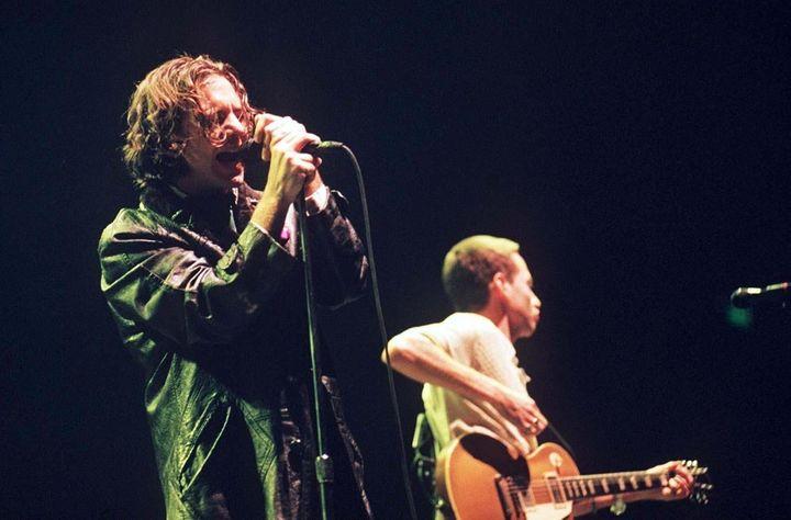 Pearl Jam in 1996.