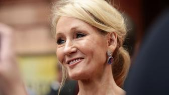 File photo dated 30/07/16 of JK Rowling, as a Syrian girl who was sent books by the author has been evacuated to safety.