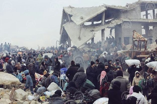 The lack of organization left thousands of civilians on the streets, unsure of when they would be