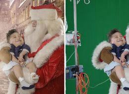 Santa Takes Sick Children To Christmas Wonderlands In Magical Photo Series