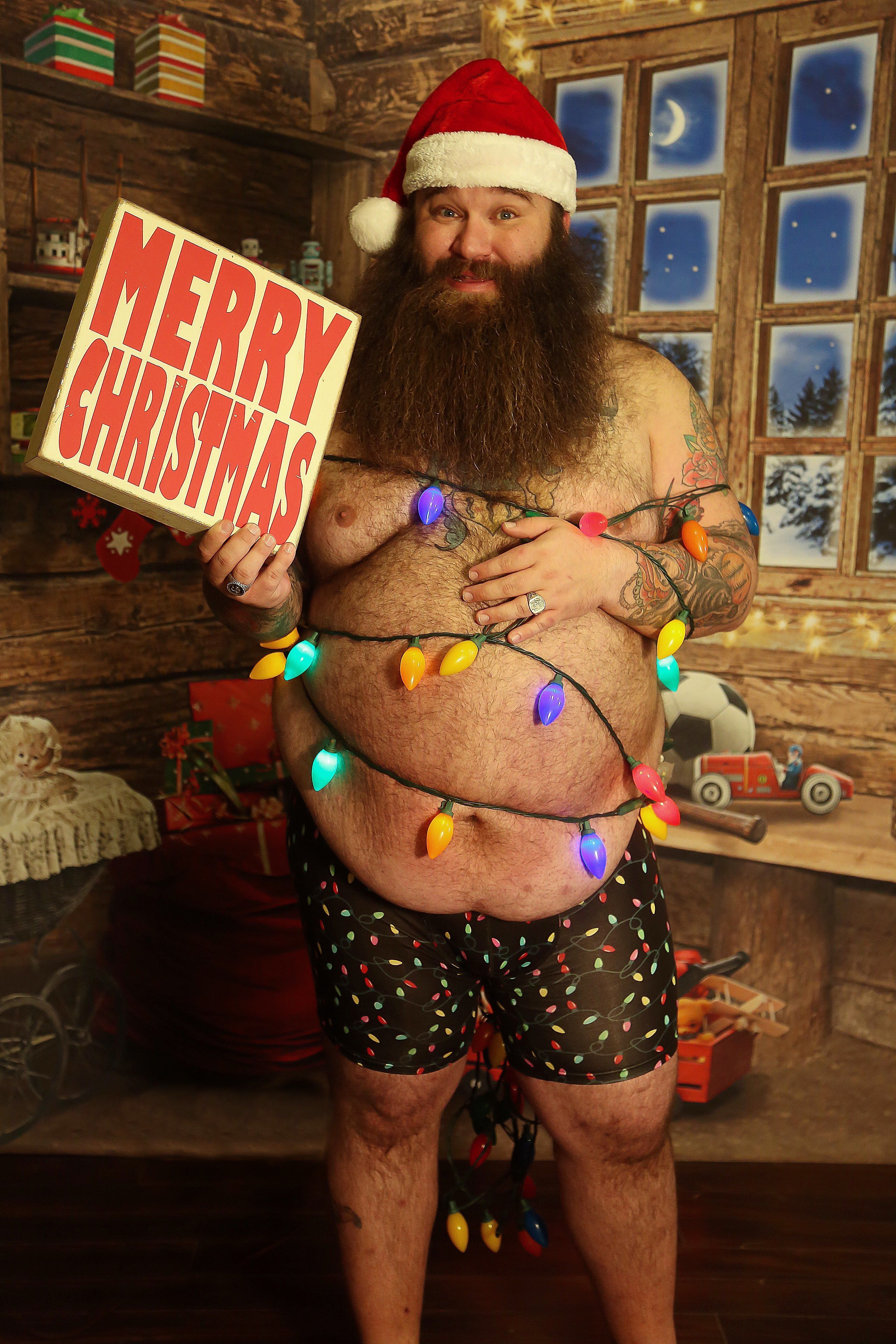 Merry Christmas right back atchya, big man.