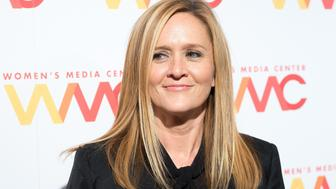 NEW YORK, NY - SEPTEMBER 29:  Samantha Bee attends The Women's Media Center 2016 Women's Media Awards at Capitale on September 29, 2016 in New York City.  (Photo by Mike Pont/WireImage)