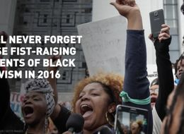 Fist-Raising Moments of Black Activism in 2016