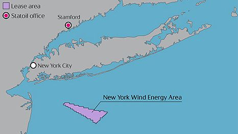 The 25-year lease is located roughly 14 miles off Jones Beach on Long Island.