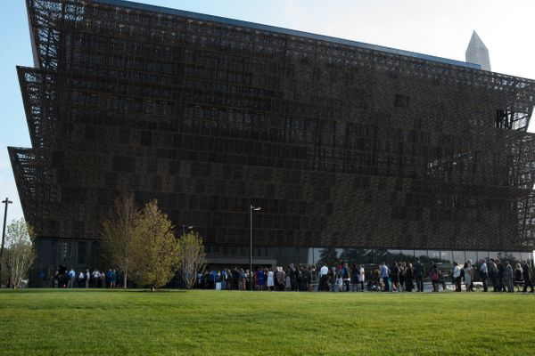 "After 100 years of challenges, the National Museum of African American History and Culture<a href=""https://www.huffpost.com/e"