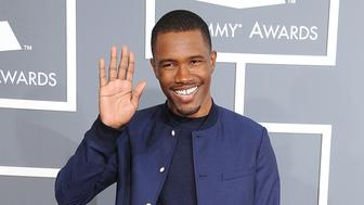 LOS ANGELES, CA - FEBRUARY 10:  Frank Ocean arrives at the The 55th Annual GRAMMY Awards on February 10, 2013 in Los Angeles, California.  (Photo by Steve Granitz/WireImage)