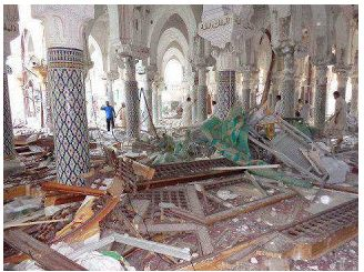 The al-Andalusi Sufi Shrine in Libya after an attack by Salafists