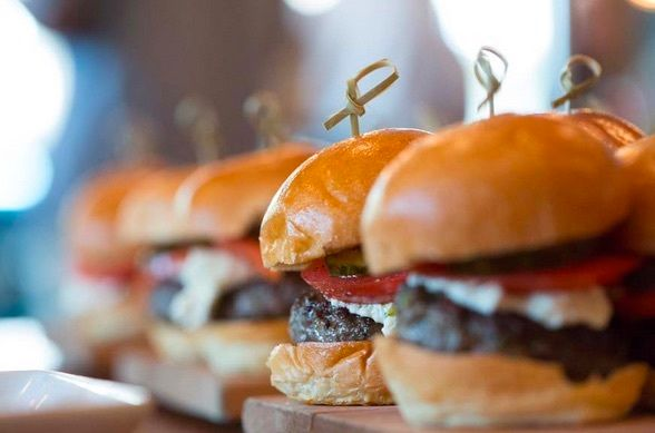 Burgers made better by blending beef with mushrooms