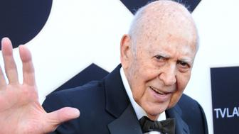 BEVERLY HILLS, CA - APRIL 11:  Actor Carl Reiner attends the 2015 TV LAND Awards at Saban Theatre on April 11, 2015 in Beverly Hills, California.  (Photo by Barry King/FilmMagic)