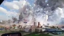 At Least 27 People Killed In Massive Fireworks Market Explosion In