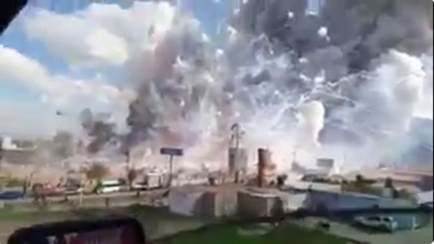 Massive Fireworks Market Explosion In Mexico Injures