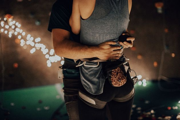 This Romantic Rock Climbing Proposal Will Rock Your
