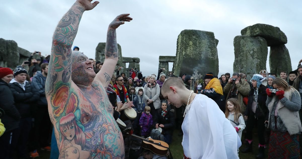First Day Of Winter: Solstice Celebrated By Pagans And ...