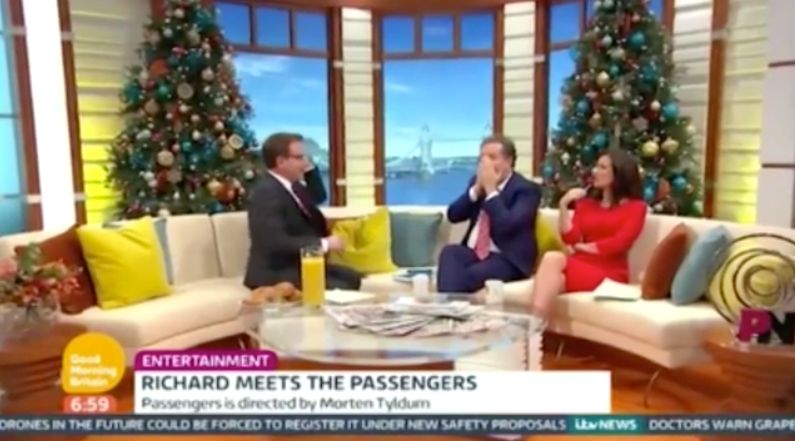 'Good Morning Britain' Presenter Piers Morgan Gets Caught Red-Handed On His