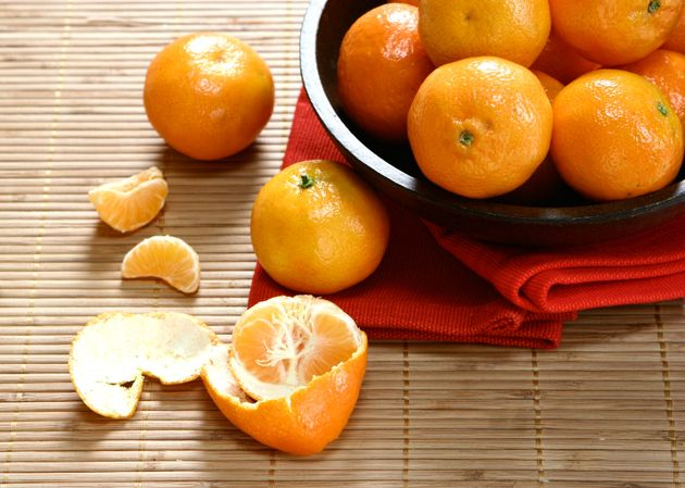Sainsbury's Invent Gauge Which Can Help Determine If Satsumas Are Too Sweet Or Sour Before You Peel