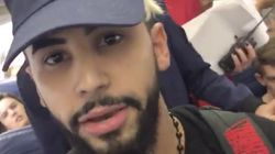 YouTuber Films Outraged Video As He's 'Kicked Off Airplane For Speaking
