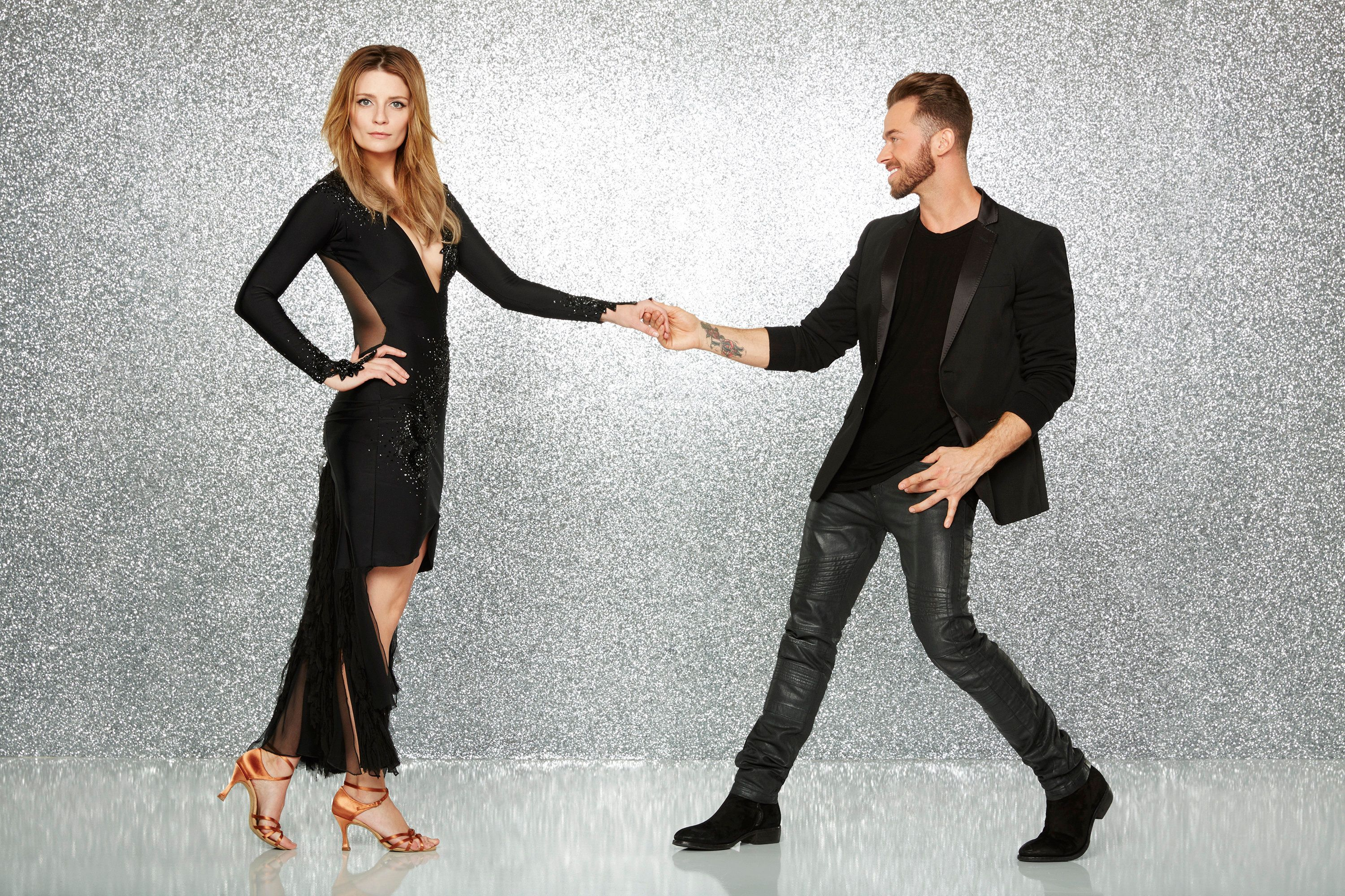 DANCING WITH THE STARS - MISCHA BARTON AND ARTEM CHIGVINTSEV - The stars grace the ballroom floor for the first time on live national television with their professional partners during the two-hour season premiere of 'Dancing with the Stars,' which airs MONDAY, MARCH 21 (8:00-10:01 p.m., ET) on the ABC Television Network. (Photo by Craig Sjodin/ABC via Getty Images)