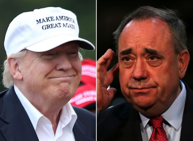 Donald Trump's 16 Obsessive Letters To 'Mad Alex' Salmond About Wind Turbine 'Monsters' In