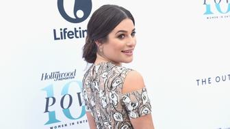 HOLLYWOOD, CA - DECEMBER 07:  Actress Lea Michele attends The Hollywood Reporter's Annual Women in Entertainment Breakfast in Los Angeles at Milk Studios on December 7, 2016 in Hollywood, California.  (Photo by Kevin Winter/Getty Images for The Hollywood Reporter )