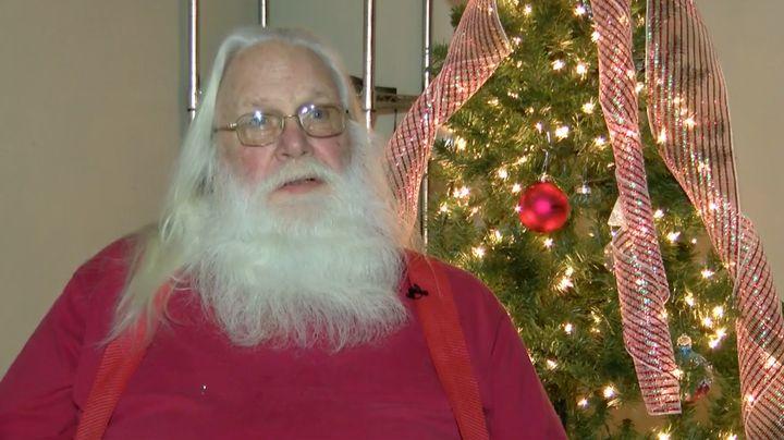 Dave Reid, better known as Santa.