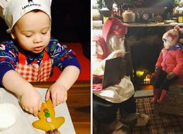 How 11 Celebrity Parents Are Getting Their Kids In The Christmas Spirit