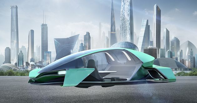How Arconic Is Shaping The Future Skins Of Flying Cars Huffpost