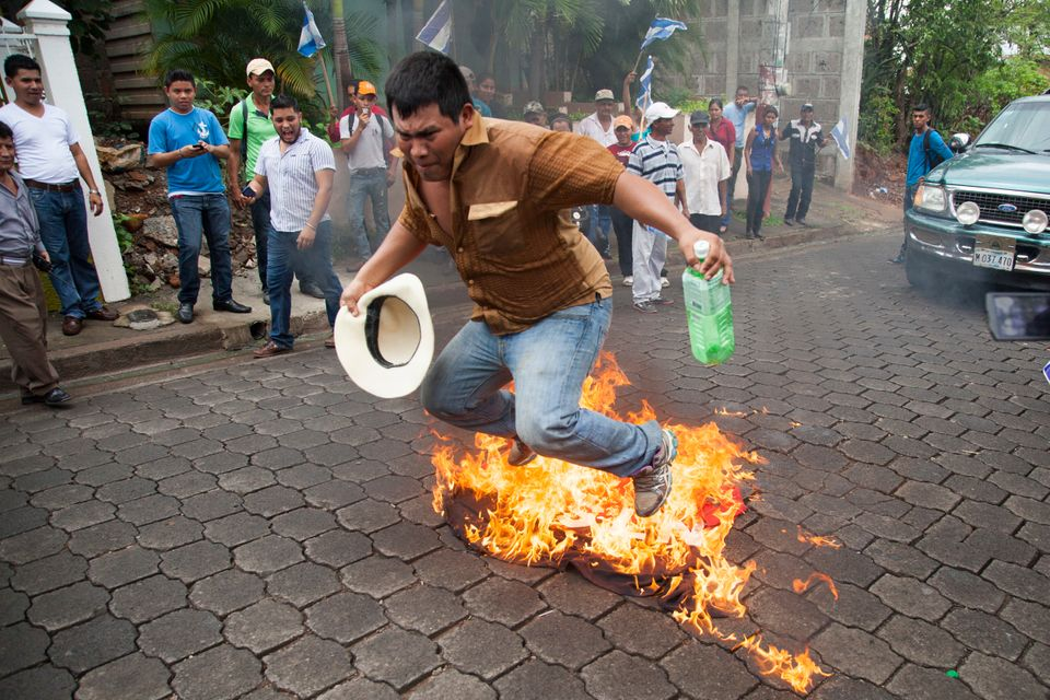 Protests over the new canal in Nicaragua have become