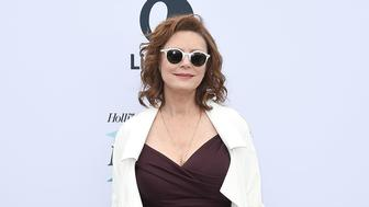 LOS ANGELES, CA - DECEMBER 07:  Susan Sarandon attends The Hollywood Reporter's Women in Entertainment Breakfast at Milk Studios on December 7, 2016 in Los Angeles, California.  (Photo by David Crotty/Patrick McMullan via Getty Images)