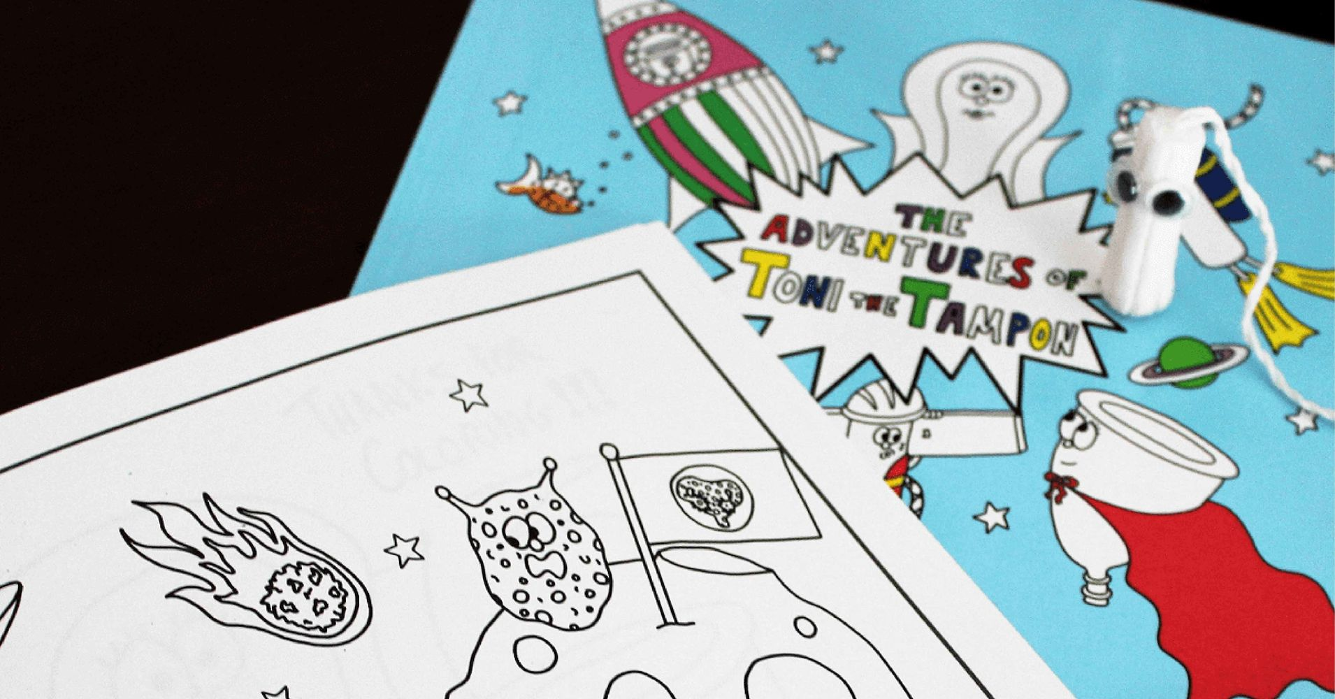 new coloring book introduces kids of all genders to menstruation huffpost