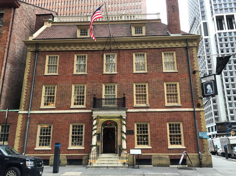 Fraunces Tavern is the oldest establishment serving food and drink in New York