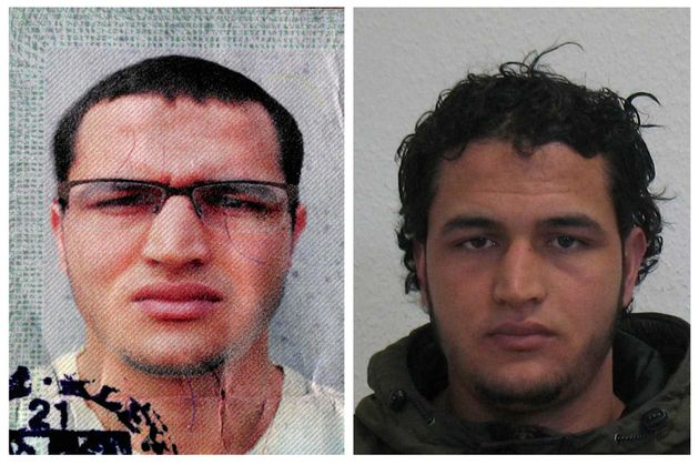 Handout pictures released on December 21, 2016 and acquired from the web site of the German Bundeskriminalamt...