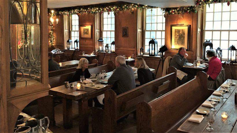 The Tallmadge Room in Fraunces Tavern