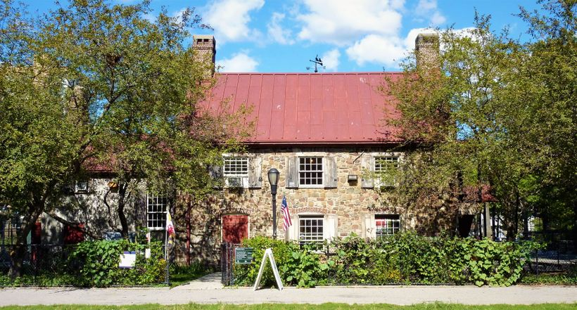 The Old Stone House in Brooklyn was the scene of severe fighting in 1776